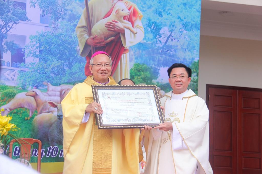 Giáo phận Hà Tĩnh công bố quyết định thành lập Tiền Chủng Viện Thánh Gioan Phaolô II